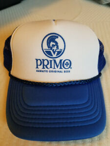 NEW PRIMO Beer Trucker mesh Hat cap lid NOS FAST Shipping FREE Calendar