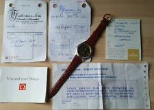 Gent's Vintage Gold Capped Omega Seamaster Cosmic 2000 Automatic + Paperwork