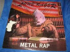 "LONE RAGER ""METAL RAP"" LP E.P. 1984 JON Z THE RODS ANDY MACDONALD RARE INV-2]"