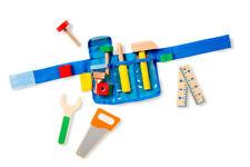 Melissa & Doug 15174 Werkzeug Gürtel Holz Werkzeug Kinder Spielzeug Heimwerker