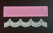 Silicone TIFFANY 3D CAKE LACE Mat / Mold for Edible Sugar Lace by Claire Bowman