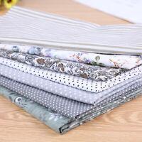 7PCS/SET Cotton Fabric Squares Bundle Patchwork Pre-Cut Quilt For Sewing DIY