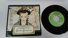 "CULTURE CLUB KARMA CHAMELEON 7"" VINYL SPANISH EDITION MEGA RARE!!!"