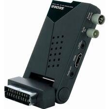 DECODEUR RECEPTEUR ADAPTATEUR TNT HD TV TELE TELEVISION PRISE PERITEL USB HDMI
