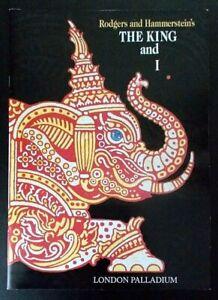 The King And I Souvenir/photo programme London Palladium 2000 Elaine Paige
