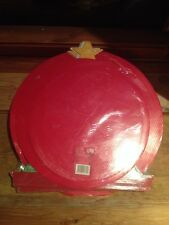 Red 3 Tier Cardboard Christmas Cupcake Stand/New/Party Food/Decorations/Festive