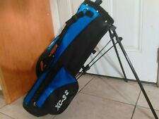 "Cougar ® 29"" Black & Blue ""Xc -3 ="" Youth Light Stand-Up Carry Golf Bag"