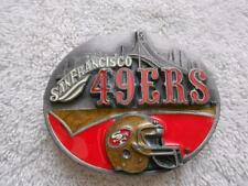 1991 Siskiyou NFL San Francisco 49ers Football Belt Buckle Ltd Edition #1082
