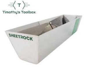 "USG Sheetrock Classic Stainless Steel Mud Pan 14"""