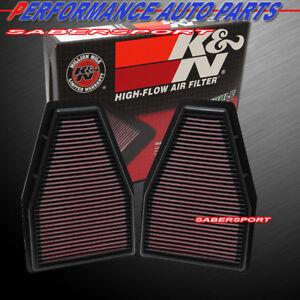 Sport air Filtre 33-2786 S k/&n Filtre à Air Sport Porsche Carrera 997 40/% de l/'Air