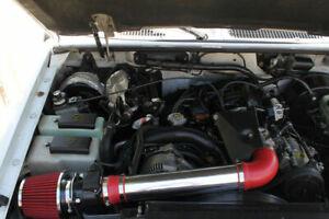 BCP RED 95-00 Explorer/Ranger/B4000 OHV 4.0 V6 Air Intake Induction Kit + Filter