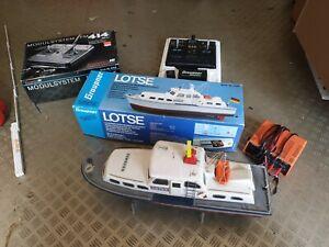Graupner Lotse Modell Schiff Fernsteuerung Servo Sender Motor