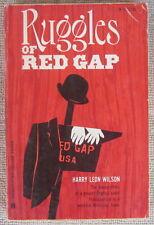 Ruggles of Red Gap by Harry Leon Wilson PB Washington Square Press W235 1964