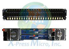 "DELL COMPELLENT SC220 24 x 2.5"" STORAGE ENCLOSURE 2x CONTROLLERS/PWS 24x TRAYS"