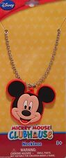 """Necklace Disney MICKEY MOUSE 16"""" Chain Jewelry S1"""