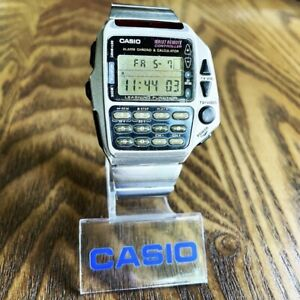 RARE Vintage 1994 Casio CMD-40 Wrist Remote Controller Calculator Watch Mod 1174