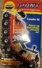 Galoob power machines GIANT Leader 16 caterpillar truck box and toy