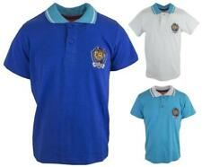 Collared Short Sleeve Polo T-Shirts, Tops & Shirts (2-16 Years) for Boys