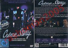 DVD R2 CRIME STORY TV SERIES SEASON 1+2 Dennis Farina Michael Mann Region 2 NEW