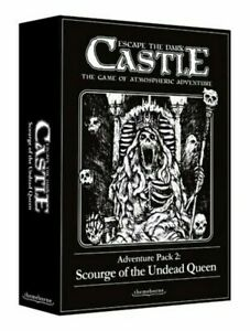 Escape The Dark Castle Adventure Pack 2 Scourge Of The Undead Queen Card Game