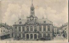 PostCard Chaumont L'Hotel de Ville France Linen