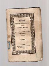 istoria e concordia evangelica volume primo - mons. antonio martini -