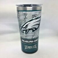 Philadelphia Eagles Tervis Stainless Steel Travel Tumbler 20 ounce with Lid