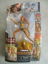 SEALED MOC 2007 MARVEL LEGENDS TIGRA WITH BAF NEMESIS PART