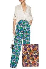 Emilio Pucci Women s US 12 it 48 Printed Silk Wide-leg Pants Multi 20c859caa