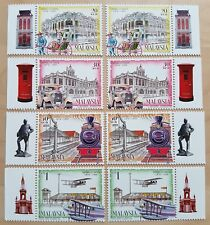 1999 Malaysia 125 Years Taiping Stamps x2 Sets with Left & Right Tabs (matched)