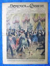 La Domenica del Corriere 13 novembre 1927 Chicago - Chester - Mussolini
