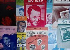 Frank Sinatra Sheet Music 26 Total