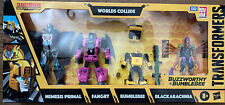 Transformers Buzzworthy Bumblebee War For Cybertron WORLDS COLLIDE Damage Back