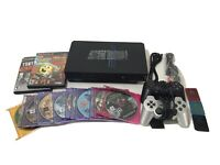 Sony PlayStation 2 PS2 Fat Console Bundle System SCPH-50001 Tested 13 Games