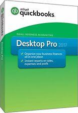 Intuit Quickbooks Desktop Pro 2017 1-User Download -Get License Same Day!!!