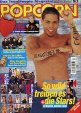 Magazine POPCORN n°3,  BRO'SIS, O-TOWN, BUFFY, Britney SPEARS, Olivier POCHER