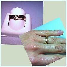 18K Yellow Gold Diamond Ring 7.5