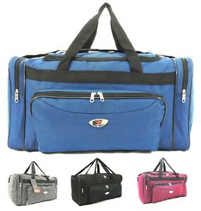 New Luggage Holdall Hand Cabin Approved Gym Bag Overnight Case Travel Bag UK