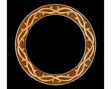 Ukulele Rosette, Tenor Uke, Crown of Thorns