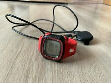 GARMIN Forerunner 15 GPS Running Watch and Activity Tracker with Heart Rate- RED
