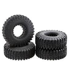 "Rubber Tires 1.9"" x 1.5"" x 4.4""  OD 114mm w/ Foam for 1.9"" Wheel RC Crawler 4pcs"