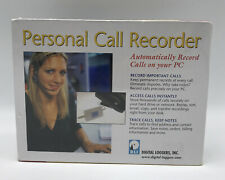 Telephone Recorder Total System Record Phone Call to PC, Home Business Caller ID