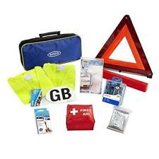 10 piezas Kit de viaje europeo Car Kit de Primeros Auxilios Triángulo De Advertencia Anillo RCT1