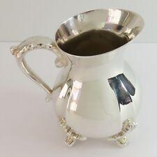 Vintage Silverplate Milk/Creamer Serving Cream Jug, Ornate Acanthus Design