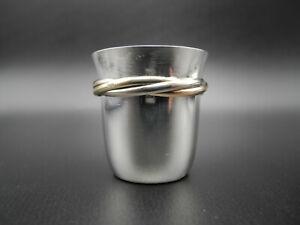 Vintage Cartier Trinity 925 Sterling Silber Schnapsglas Becher Shot Glass Top**