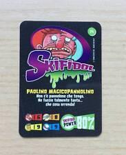 CARD SKIFIDOL 2008 - GEDIS EDICOLA - N°74  PAOLINO MAGICOPANNOLINO - CARD AS NEW