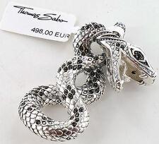 Thomas Sabo remolques pe575-051-11 serpiente Rebel at heart, cobra, PVP € 498 nuevo