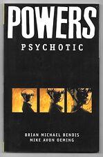 POWERS PSYCHOTIC VOL.9 / BENDIS , OEMING / ICON COMICS V.O ANGLAIS