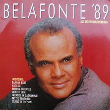 """12"""" DLP Harry Belafonte Belafonte `89 (Banana Boat, Island In The Sun) 80`s"""