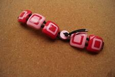 "Moschino ""I Love 70""  BRACELET FOR A WATCH PINK/RED COLOUR"